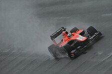 Formel 1 - Feuertaufe im Regen für Marussia-Rookies