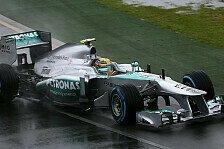 Formel 1 - Hamilton fühlte sich wie auf Eis