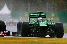 Formel 1 - Caterham hat die rote Laterne inne