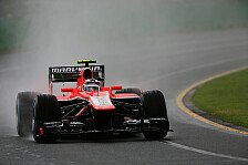 Formel 1 - Marussia über knappen Abstand erstaunt