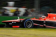 Formel 1 - Marussia: Die Zeichen stehen auf Aufschwung