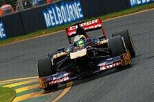 Formel 1 - Toro Rosso verpasst Sprung in Q3