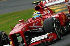 Formel 1 - Trauriger Rekord für Felipe Massa