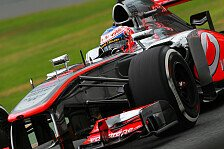 Formel 1 - Button klagt über fehlende Pace im Trockenen