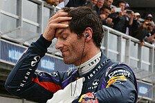 Formel 1 - Webber: In Kurve 9 die Pole verloren?