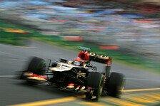 Formel 1 - Lotus: Eine Runde auf Trockenreifen zu wenig