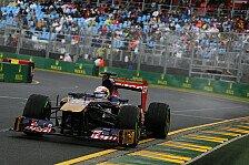 Formel 1 - Ferrari-Teams schnellste auf den Geraden