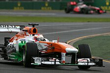 Formel 1 - Di Resta fühlt sich um Platz 7 betrogen