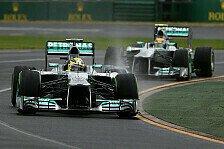 Formel 1 - Mercedes-Analyse: In Melbourne war mehr drin