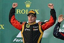 Formel 1 - Räikkönen hatte vor Rennstart noch Zweifel