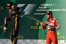 Formel 1 - Domenicali: Füße auf dem Boden lassen