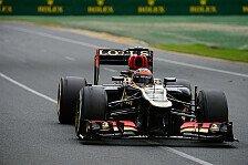 Formel 1 - Saisonbilanz 2013: Lotus