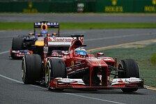 Formel 1 - Alonso stichelt gegen Red Bull