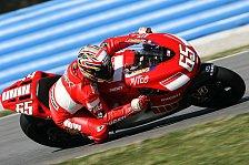 MotoGP - 1. Training: Capirossi setzt erste Bestzeit