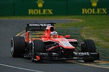 Formel 1 - Bianchi von Marussia überrascht