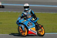 Moto3 - Rins auf Pole, Folger nach Kampf in Reihe zwei