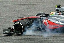 Formel 1 - McLaren verzweifelt: Hoffen auf Regen