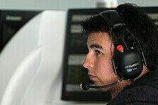 Formel 1 - Watson: Perez ist ein halber Fahrer