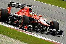 Formel 1 - Marussia Vorschau: Bahrain GP