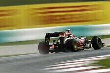 Formel 1 - Lotus: Zuversicht für China & Bahrain