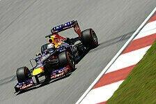 Formel 1 - Vettel fliegt zur Malaysia-Pole
