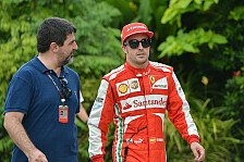 Formel 1 - Alonso-Management kontert Marchionne-Spitze