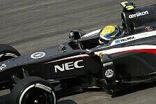 Formel 1 - Sauber: Kaltenborn von Gutierrez überzeugt