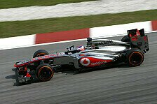 Formel 1 - McLaren sieht Fortschritte
