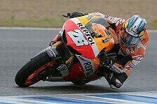 MotoGP - Pedrosa schaffte nicht ganzes Programm