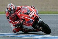MotoGP - Ducati-Piloten gewöhnen sich ans Nasse