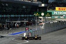 Formel 1 - Red Bull-Doppelsieg in Malaysia