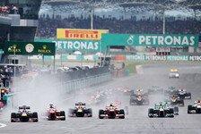 Formel 1 - Malaysia GP: Früherer Start in Sepang?