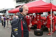 Formel 1 - Stand Newey vor Wechsel zu Ferrari?