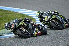MotoGP - Beide Tech-3-Yamahas unter den Top-Ten