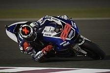 MotoGP - 1. Training: Bestzeit für Jorge Lorenzo