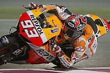 MotoGP - Marquez überflügelt Pedrosa