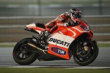 MotoGP - Gute Trainingseindrücke bei Ducati