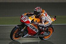 MotoGP - Marquez fährt Bestzeit im 2. Training