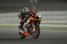 MotoGP - Schwieriger erster Tag für Forward Racing