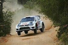 WRC - Ogier fährt dem Feld davon