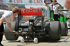 Formel 1 - McLaren: Leistungssprung bleibt aus