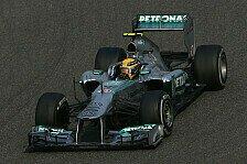 Formel 1 - Hamilton schnappt sich Pole in Shanghai