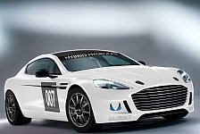 24 h Nürburgring - Aston Martin Rapide S mit Hybridsystem