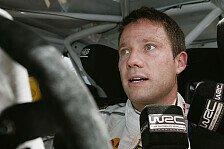 WRC - Ogier: Trotz Grippe an der Spitze