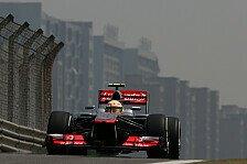 Formel 1 - Pérez hat nach China viel zu analysieren