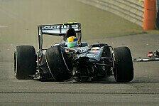 Formel 1 - China-Knaller: Die Shanghai-Unfälle