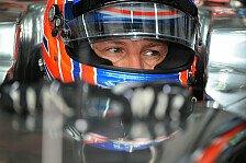 Formel 1 - Button: Der Kurs ist hart für uns