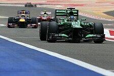 Formel 1 - Premiere: Caterham sticht Marussia aus