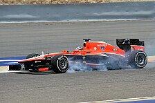 Formel 1 - Marussia fällt den Reifen zum Opfer