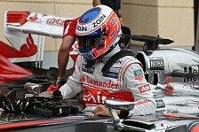 Formel 1 - Button: Nicht zu viel von uns erwarten